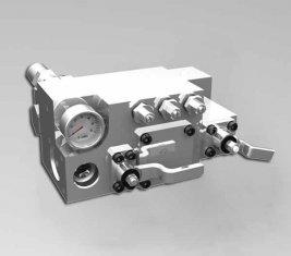 420/400 قضيب ماء يدويّ اتّجاهيّ تحكم صمام CLSF38-1