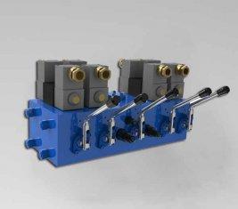electro هيدروليّ اتّجاهيّ تحكم صمام CMJF20 ل 80/210 l./min