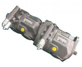 دفق تحكم مضخة ترادفيّ هيدروليّ A10VSO28 مع عزم ليّ 125 nm